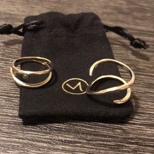 Mejuri ring bundle